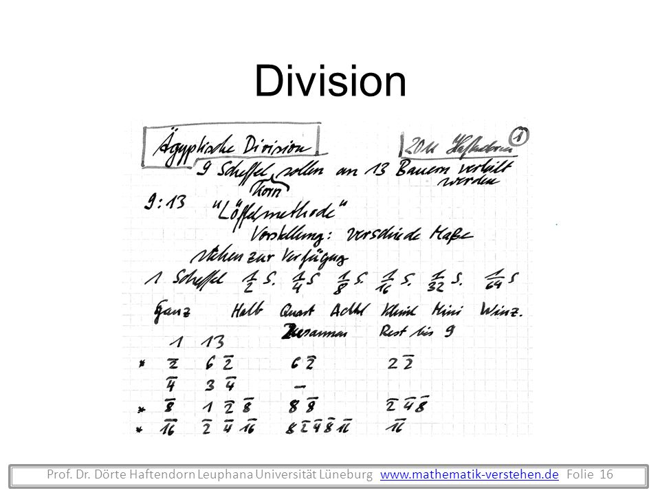 DivisionProf.Dr.