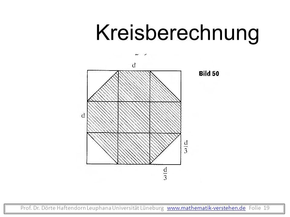 KreisberechnungProf.Dr.