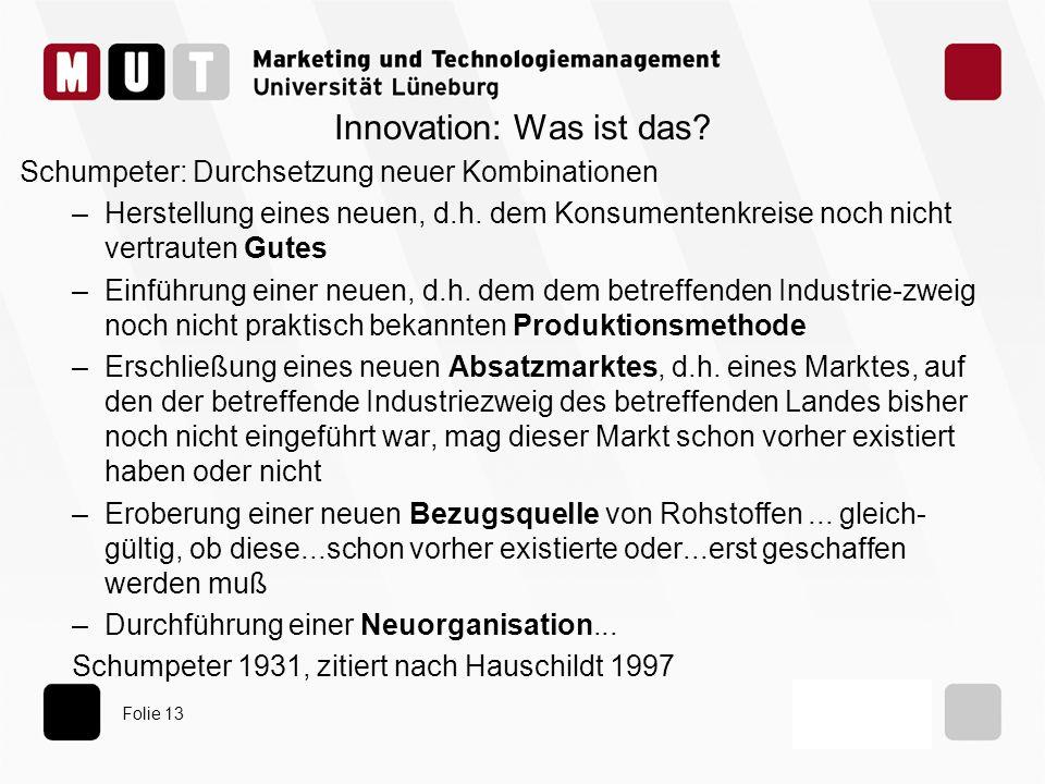 Innovation: Was ist das
