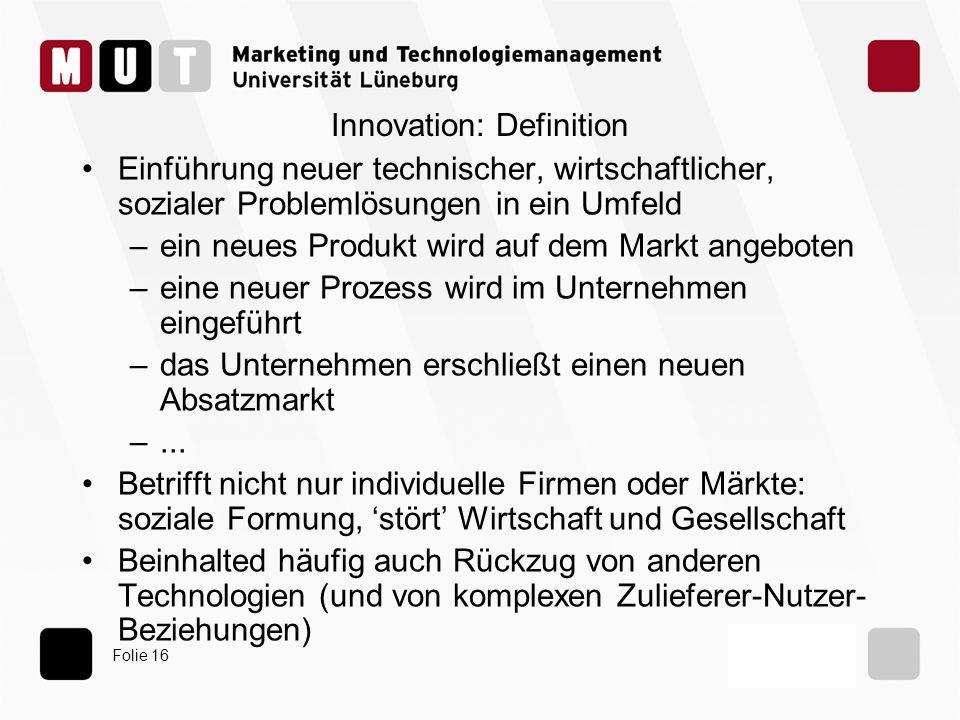 Innovation: Definition