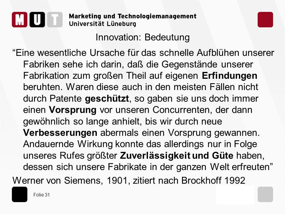Innovation: Bedeutung