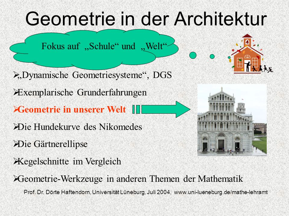 Geometrie in der Architektur