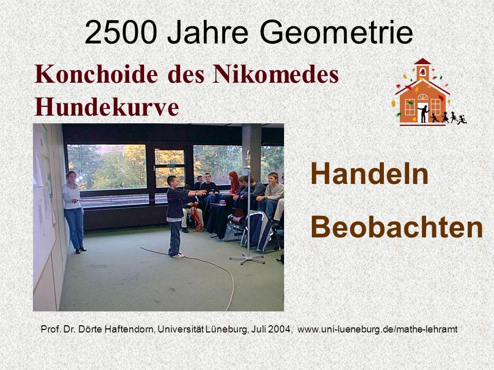 2500 Jahre Geometrie Handeln Beobachten