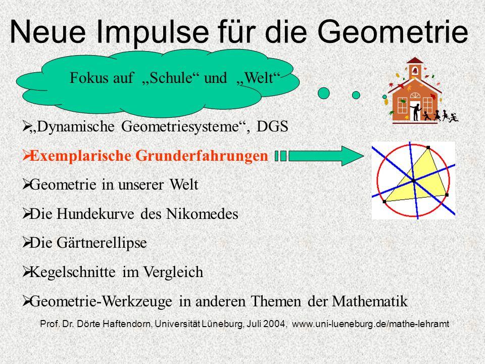 Neue Impulse für die Geometrie
