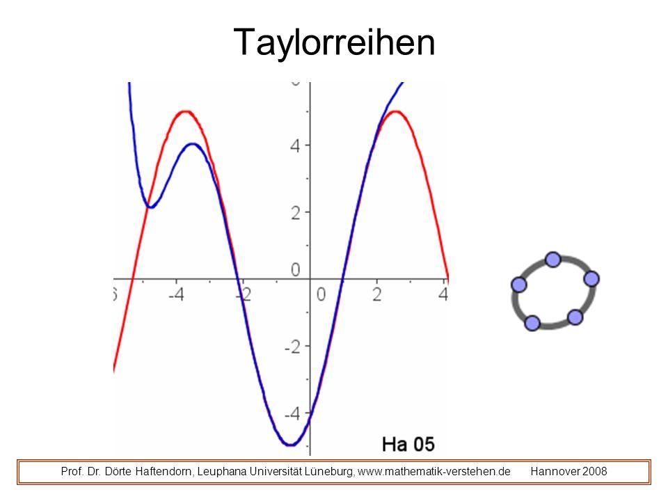 Taylorreihen Prof. Dr.