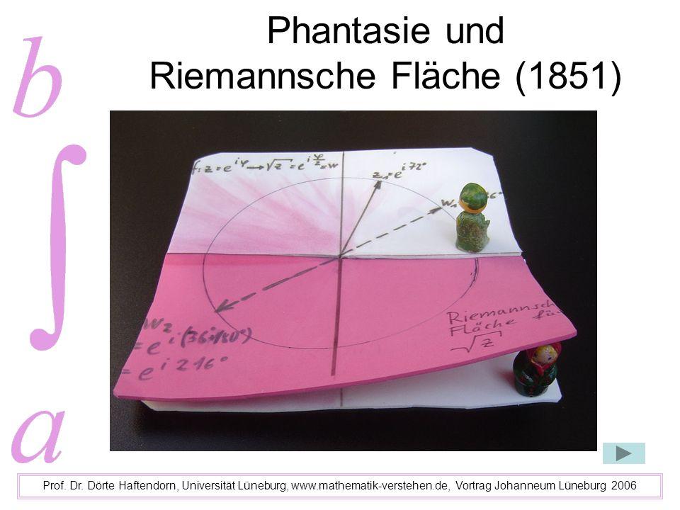 Phantasie und Riemannsche Fläche (1851)