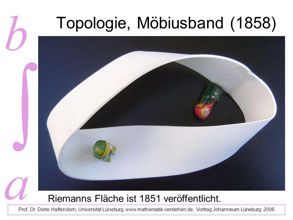 Topologie, Möbiusband (1858)