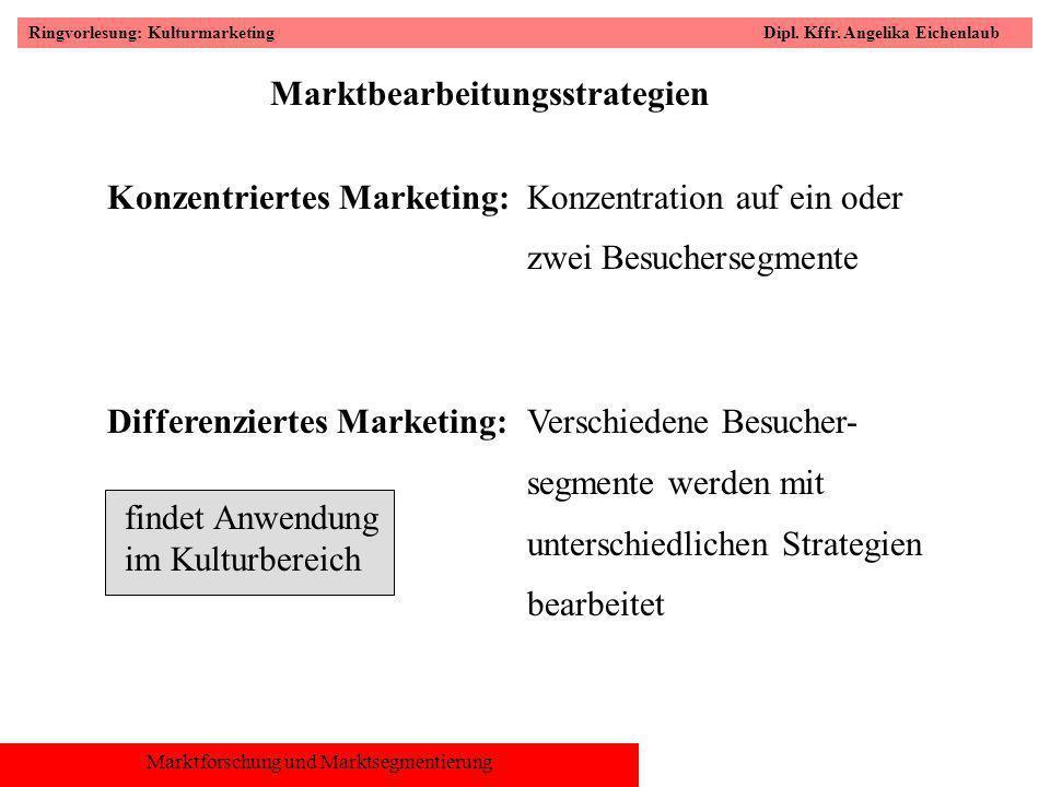 Marktbearbeitungsstrategien