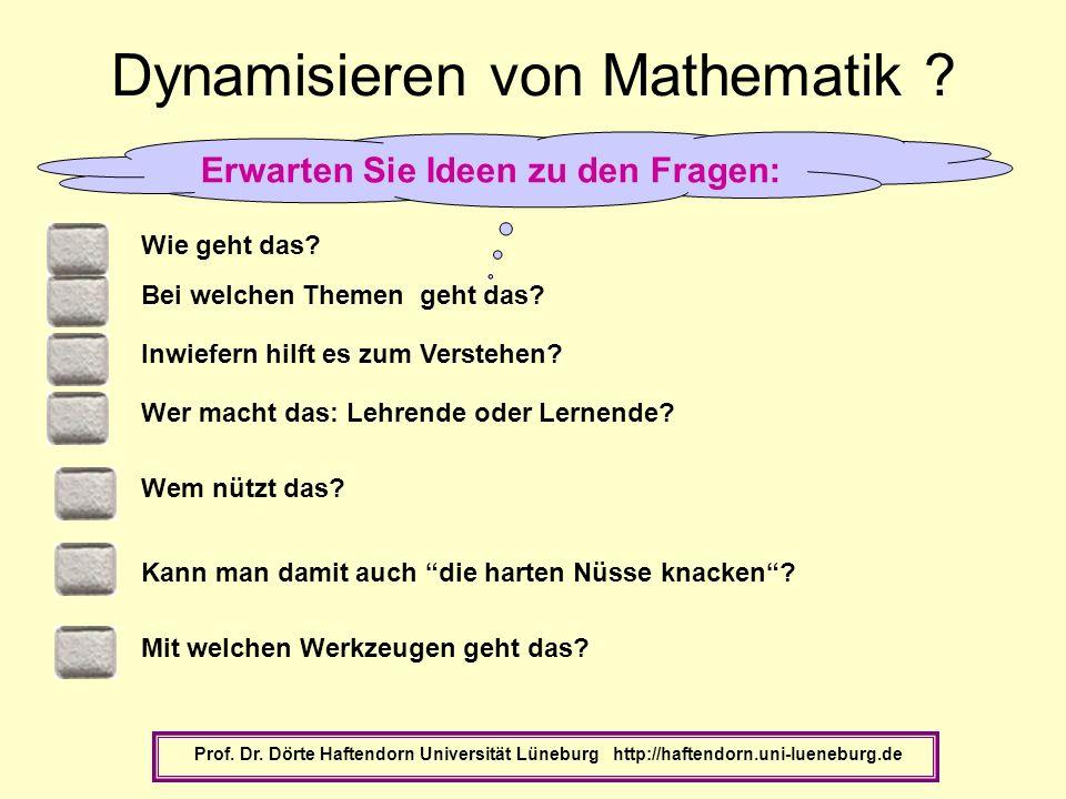 Dynamisieren von Mathematik