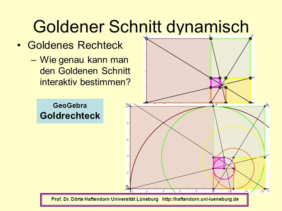 Goldener Schnitt dynamisch