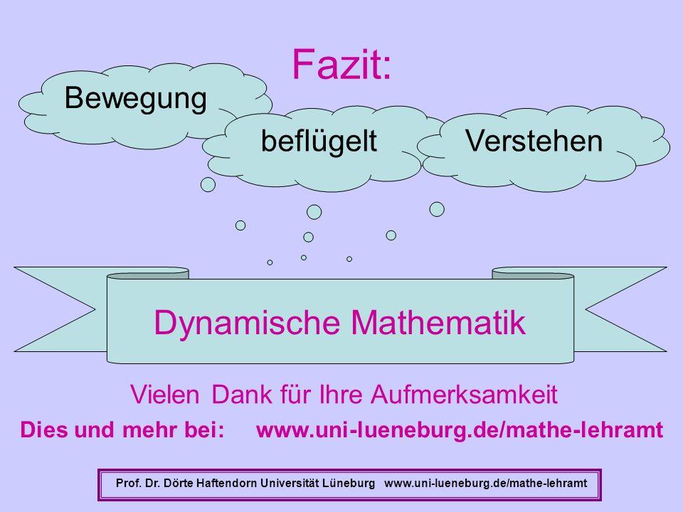 Dies und mehr bei: www.uni-lueneburg.de/mathe-lehramt