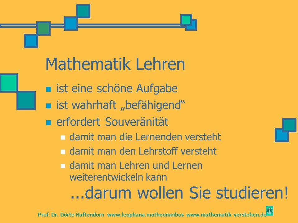 ...darum wollen Sie studieren!