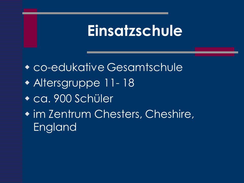 Einsatzschule co-edukative Gesamtschule Altersgruppe 11- 18