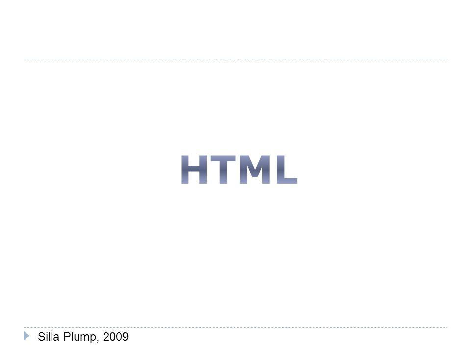 HTML Silla Plump, 2009
