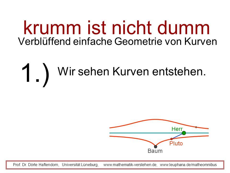 Verblüffend einfache Geometrie von Kurven