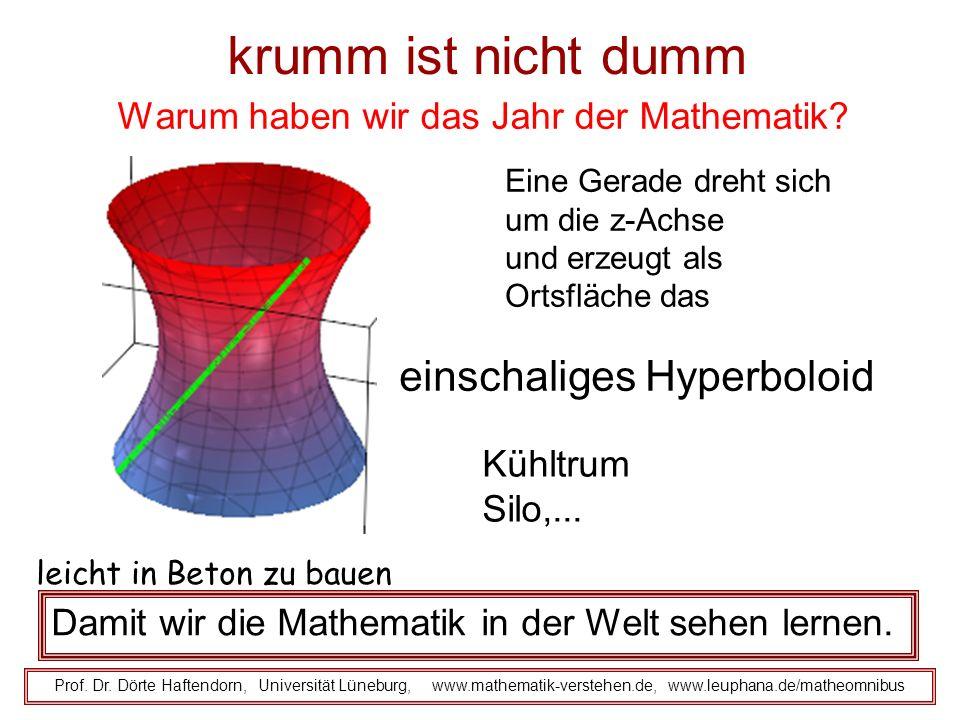 Warum haben wir das Jahr der Mathematik