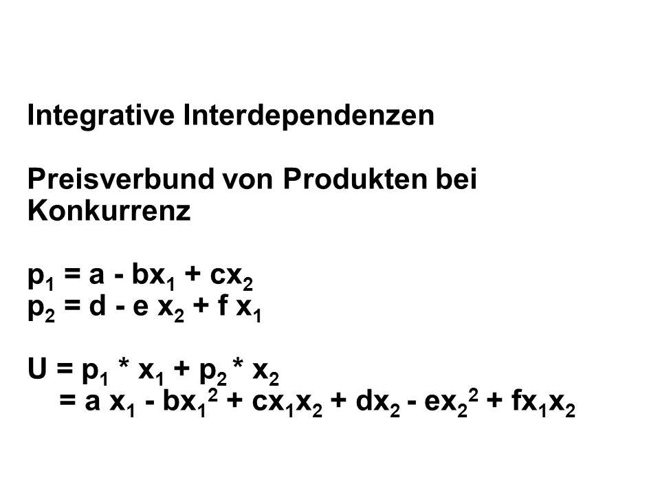 Integrative Interdependenzen