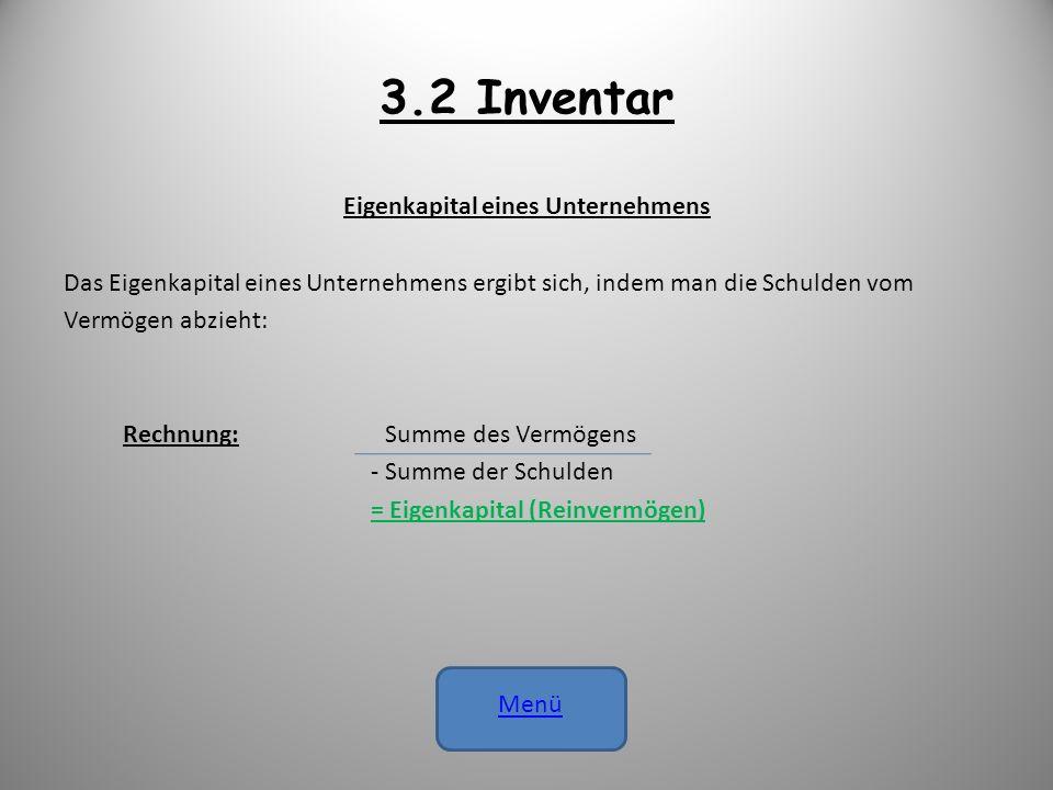3.2 Inventar