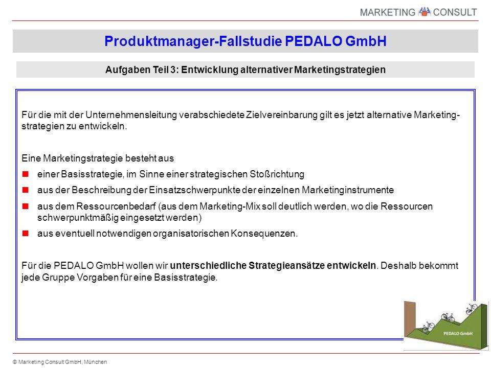 Produktmanager-Fallstudie PEDALO GmbH