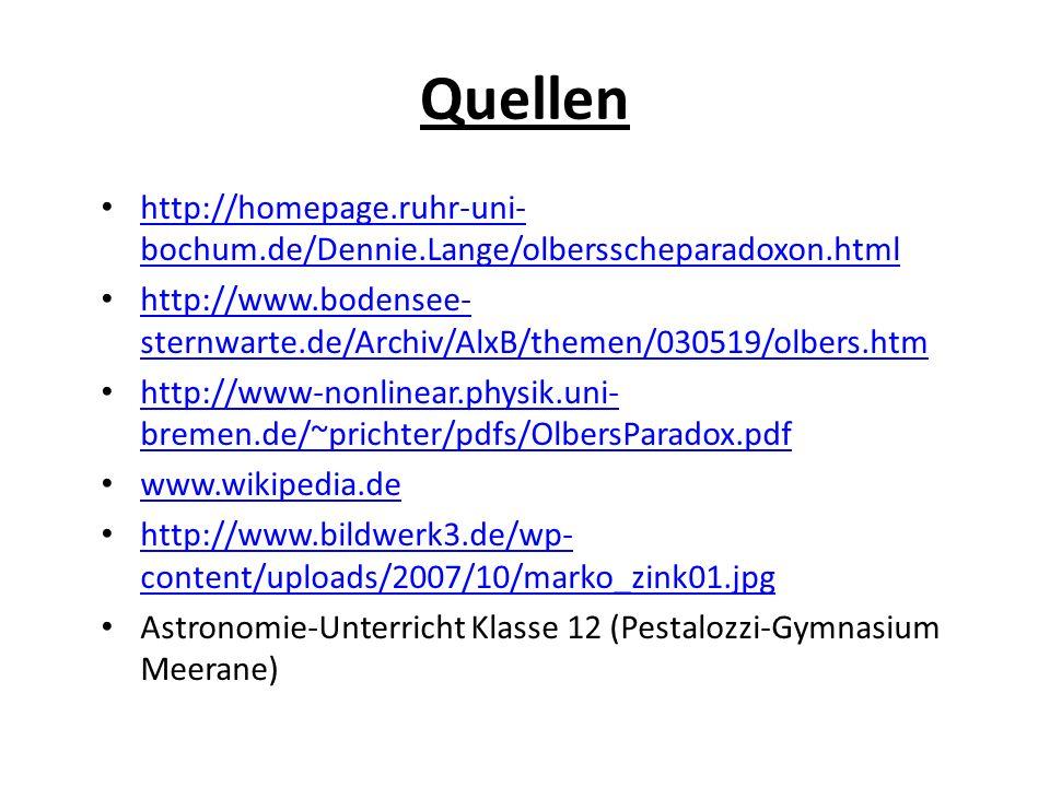 Quellen http://homepage.ruhr-uni-bochum.de/Dennie.Lange/olbersscheparadoxon.html.