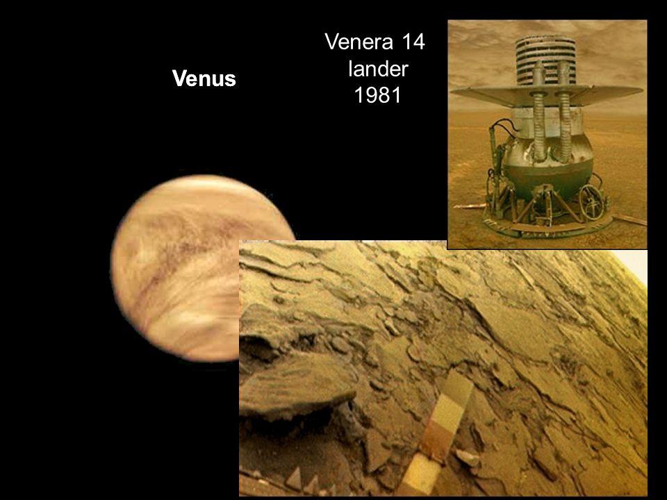 Venera 14 lander. 1981. Venus.
