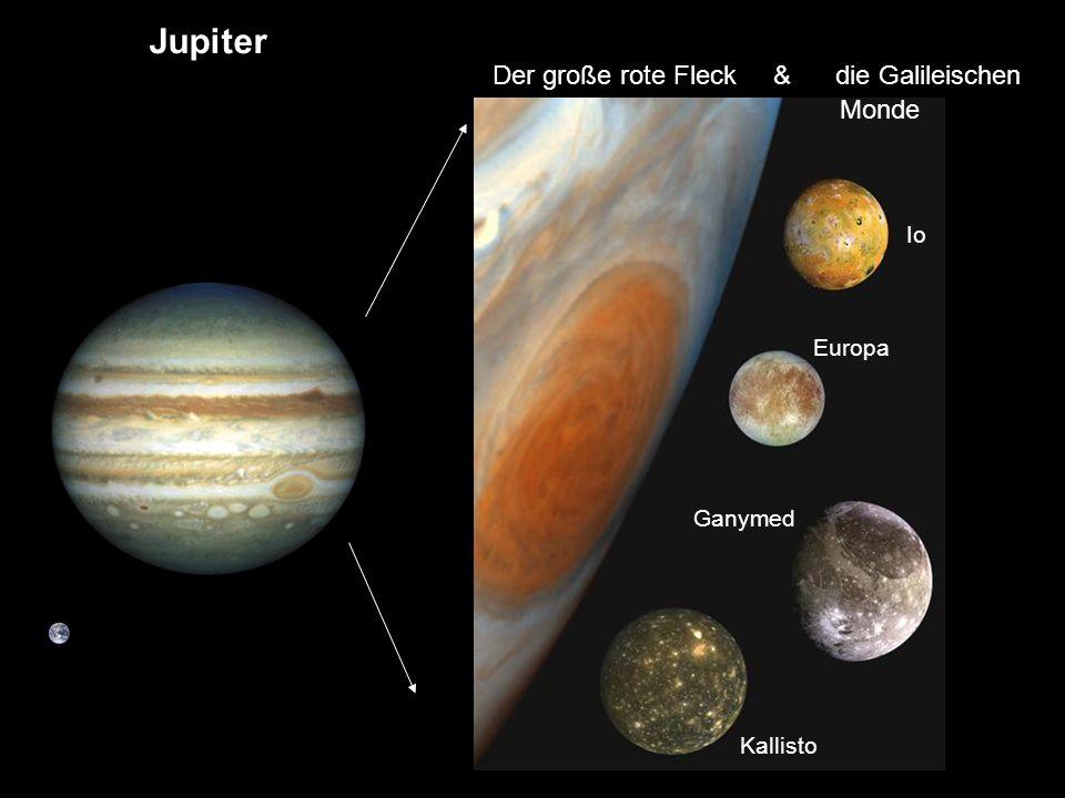 Jupiter Saturn Uranus Neptun Der große rote Fleck & die Galileischen