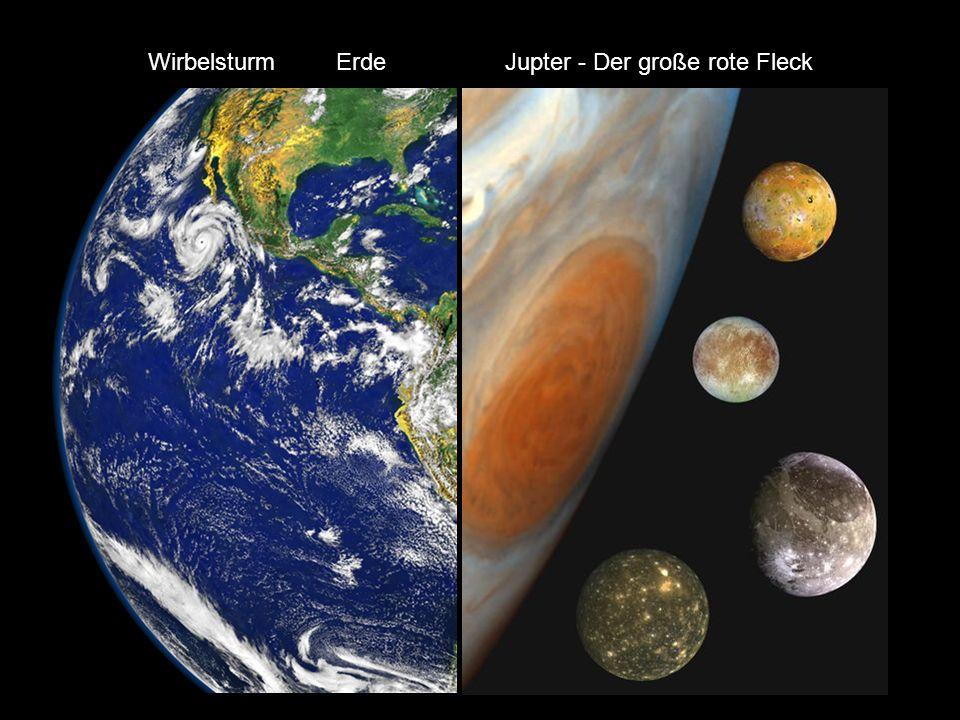 Jupiter Saturn Uranus Neptun Wirbelsturm Erde