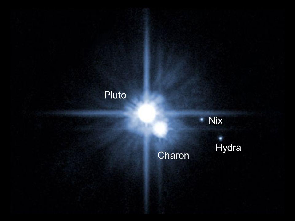 Pluto Nix Hydra Charon