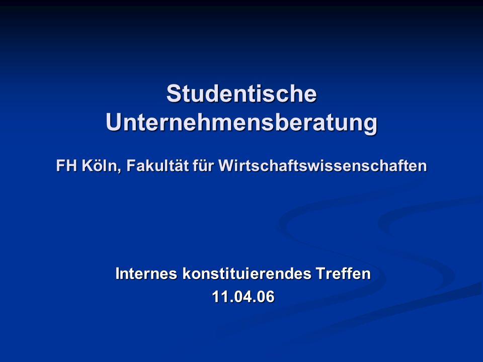 Internes konstituierendes Treffen 11.04.06