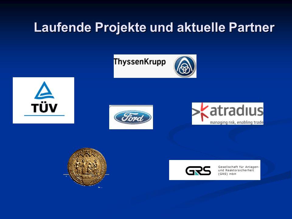Laufende Projekte und aktuelle Partner