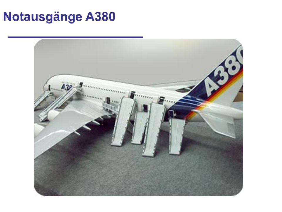 Notausgänge A380