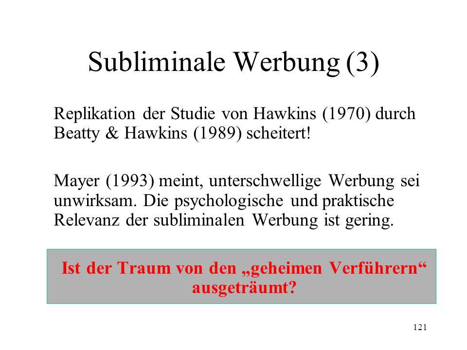 Subliminale Werbung (3)