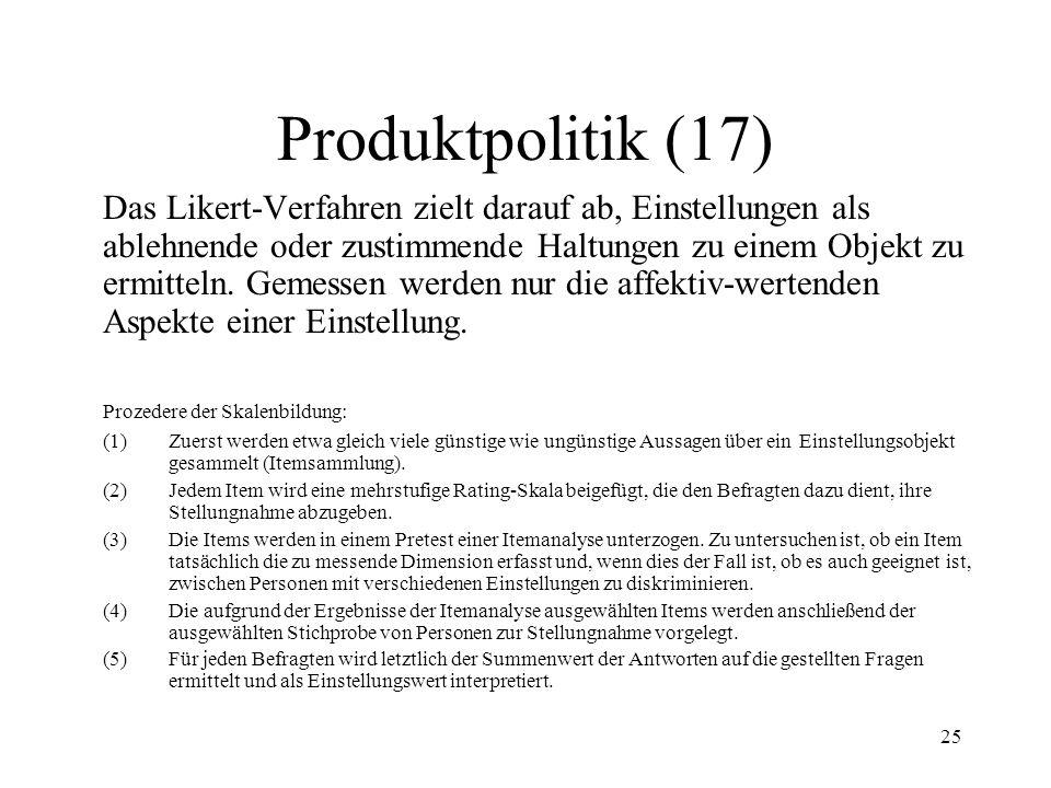 Produktpolitik (17)