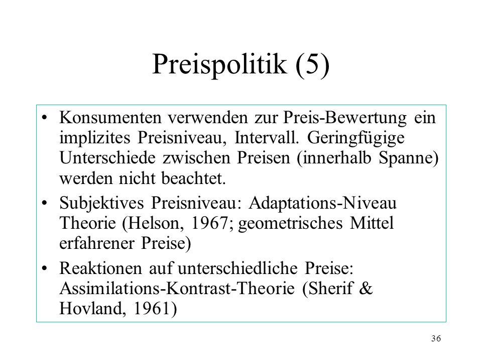 Preispolitik (5)