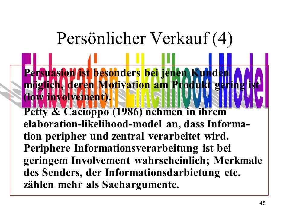 Persönlicher Verkauf (4)
