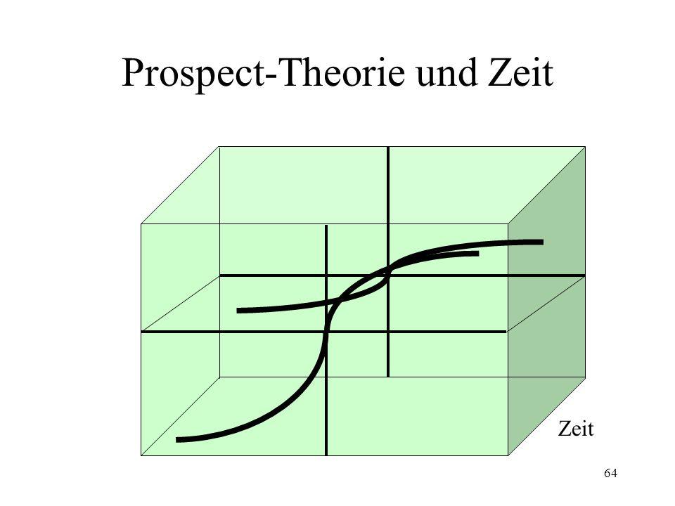 Prospect-Theorie und Zeit
