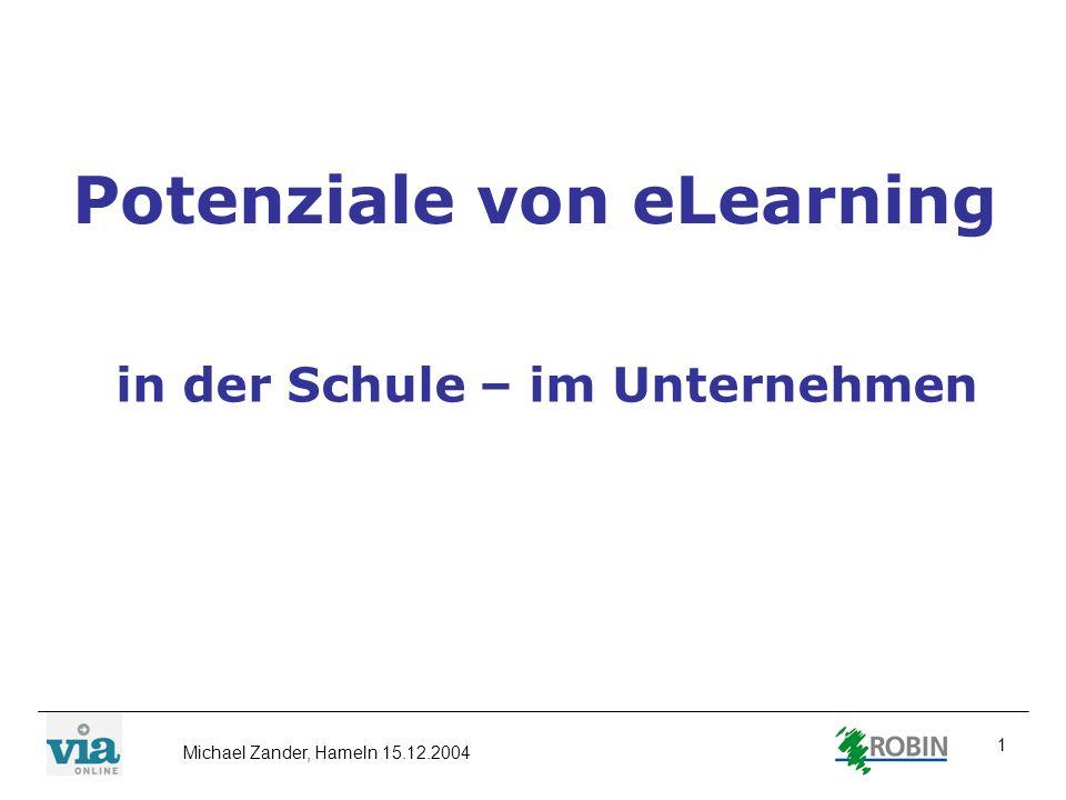 Potenziale von eLearning