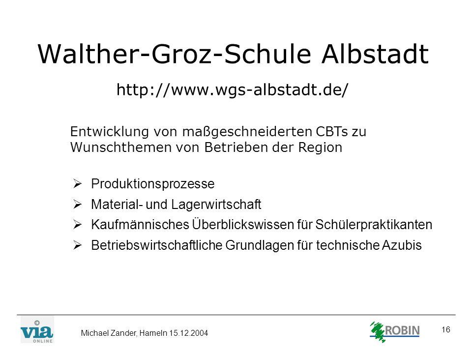 Walther-Groz-Schule Albstadt http://www.wgs-albstadt.de/