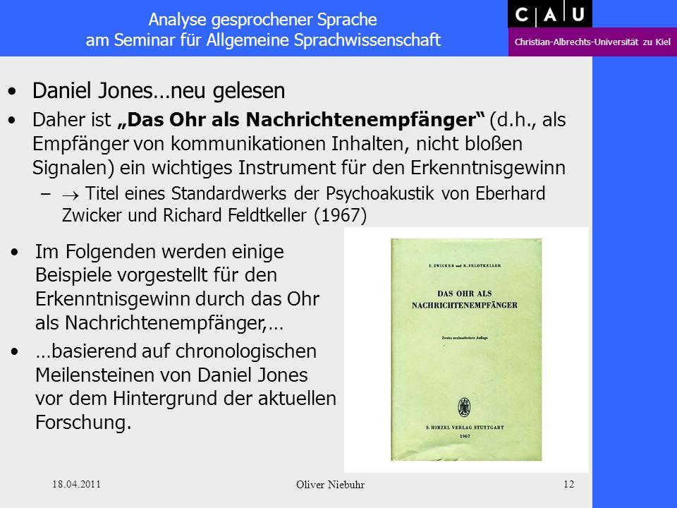 Daniel Jones…neu gelesen