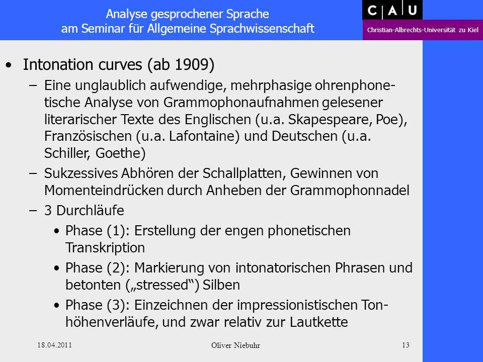Intonation curves (ab 1909)
