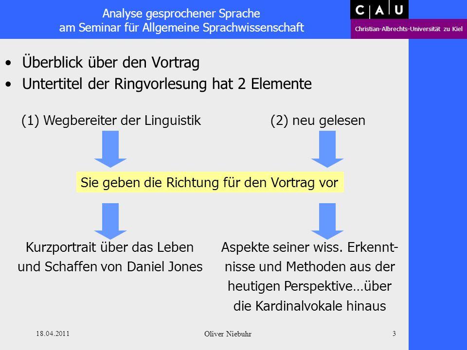 Überblick über den Vortrag Untertitel der Ringvorlesung hat 2 Elemente