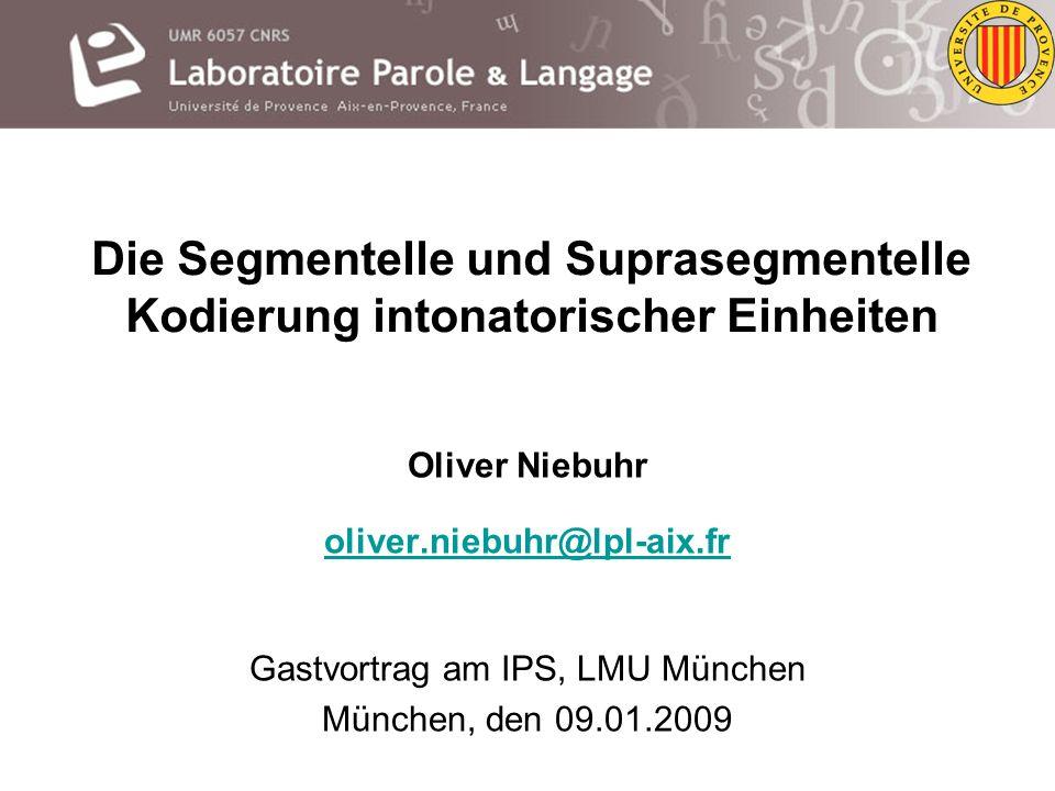 Gastvortrag am IPS, LMU München
