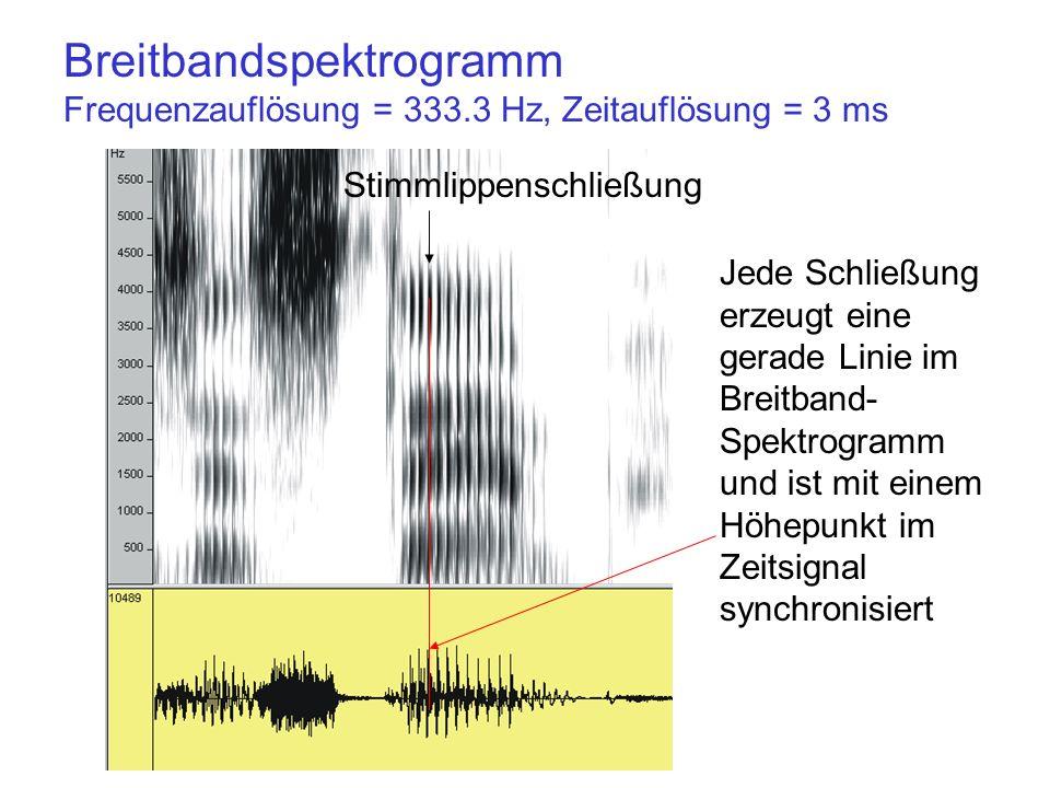 Breitbandspektrogramm