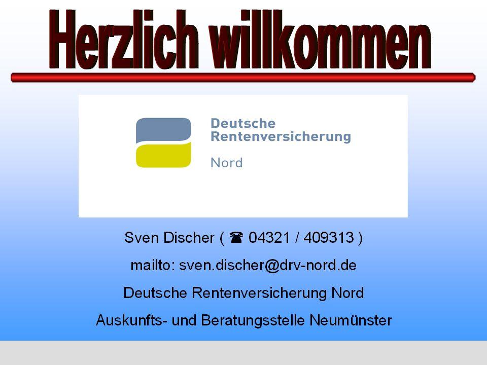 Sven Discher - Deutsche Rentenversicherung Nord