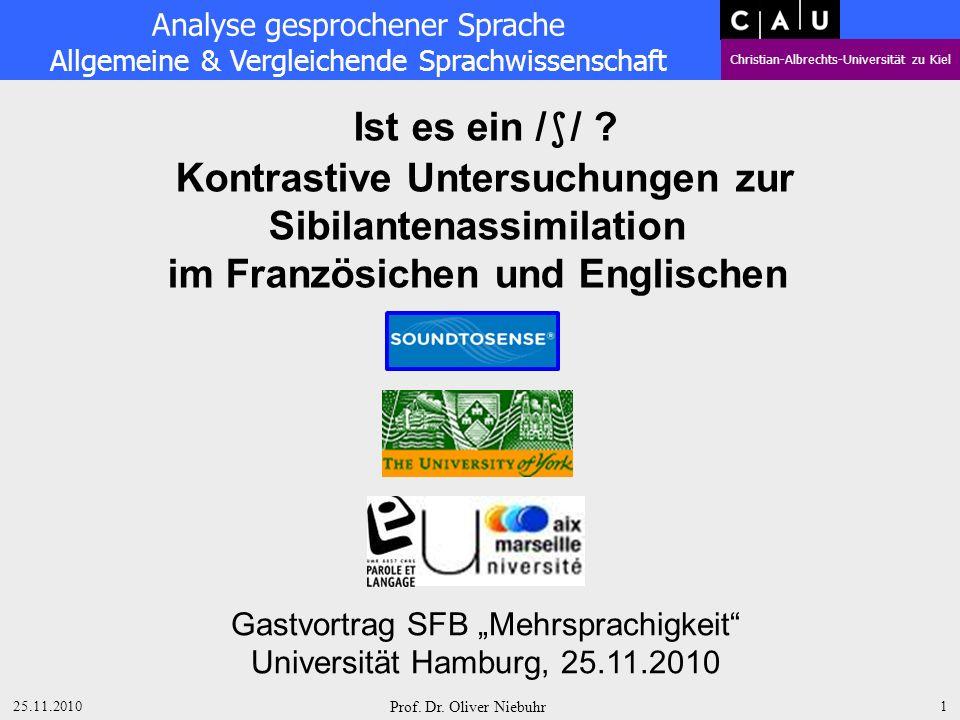 Kontrastive Untersuchungen zur Sibilantenassimilation