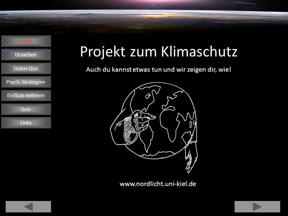 Projekt zum Klimaschutz