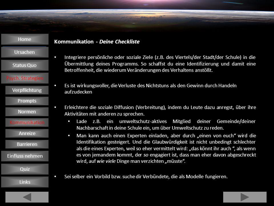 Kommunikation - Deine Checkliste