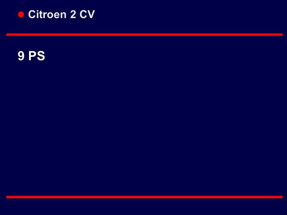 Citroen 2 CV 9 PS