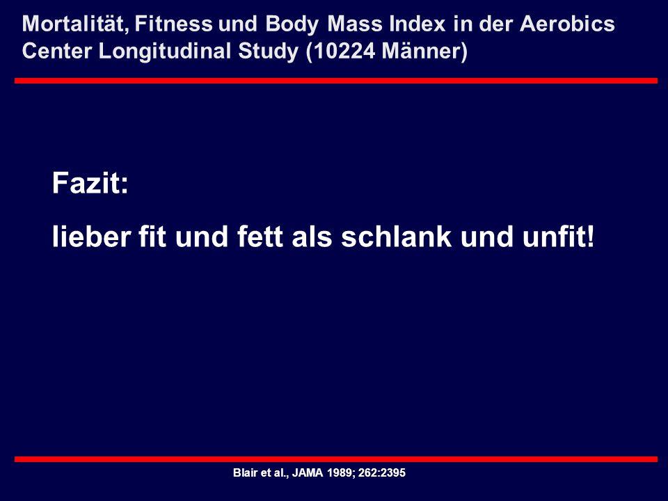 lieber fit und fett als schlank und unfit!