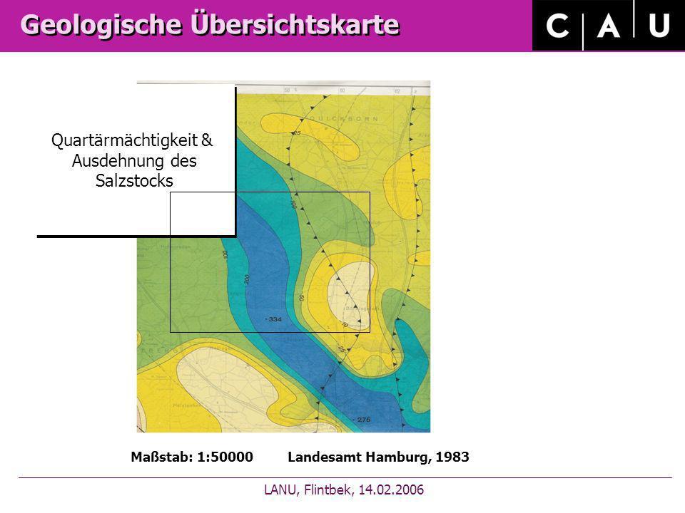 Geologische Übersichtskarte